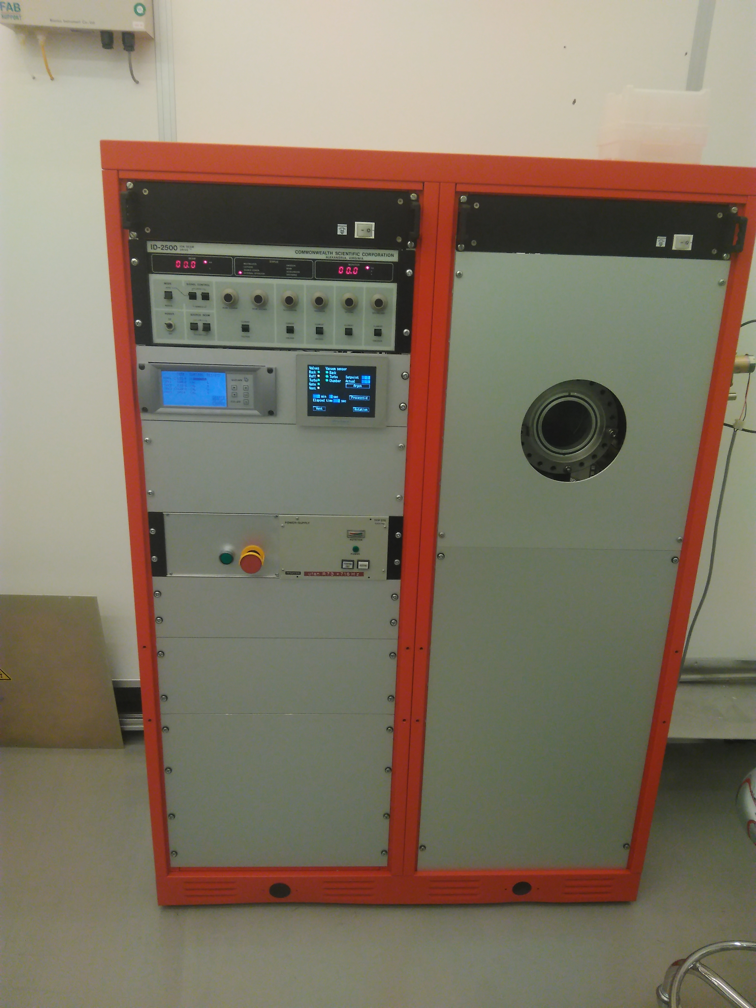 Picture of Ion Beam Etcher