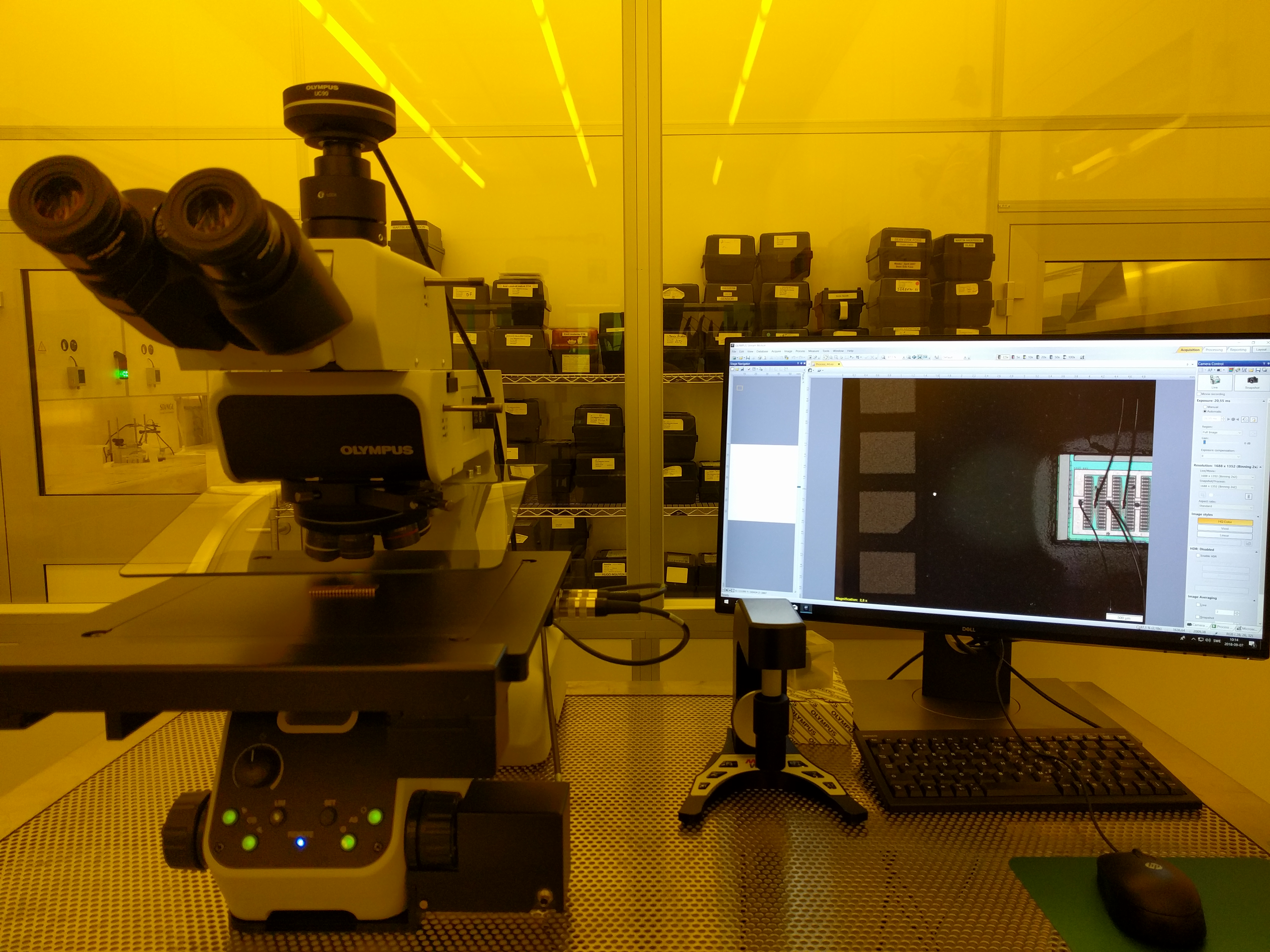Picture of Optical microscope