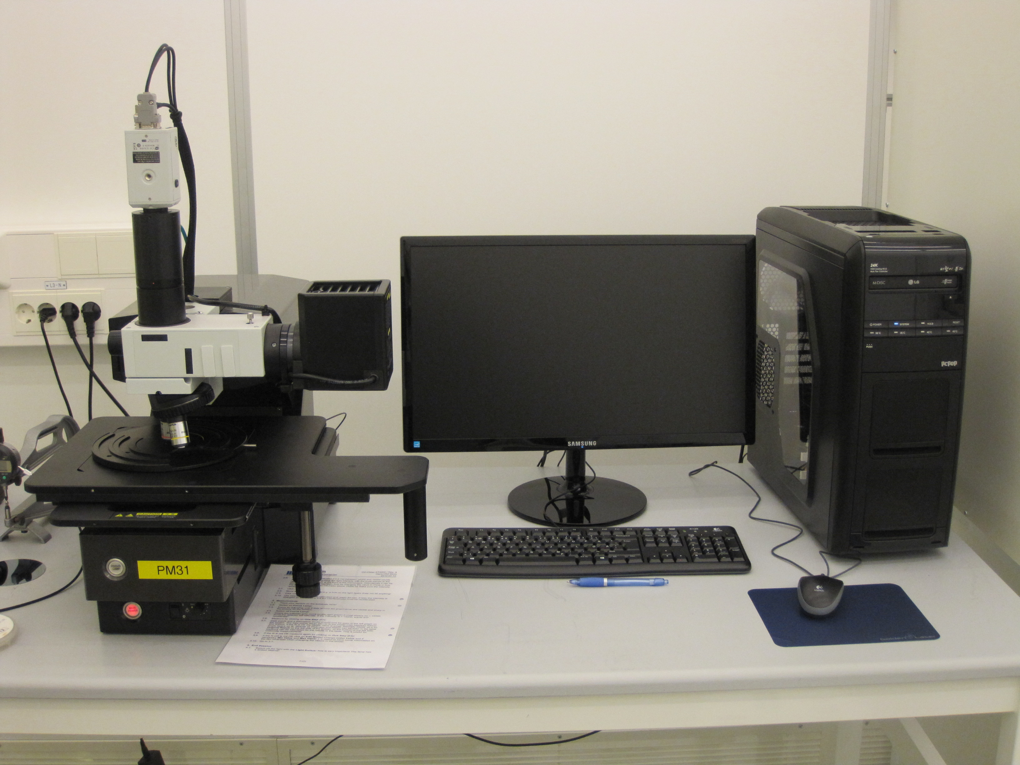 """Picture of Spectroscopic reflectometer """"K-MAC"""""""