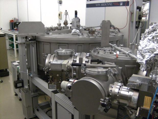 Picture of CIGS evaporator - M. Pilote